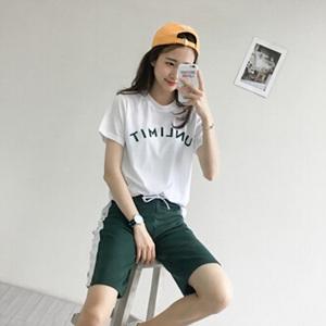 pinksisly 套裝 (T-Shirt +褲)