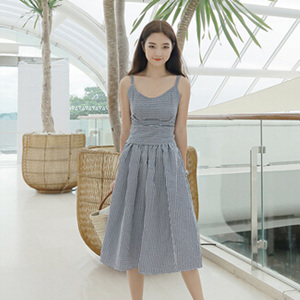 buttonoff 套裝 (吊帶+裙)