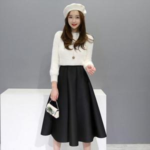 MinsShop 套裝 (針織衫 + 裙)