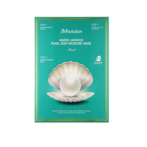 JM solution 海洋珍珠深層保濕三部曲面膜 (1.5 ml + 1.5 ml + 27 ml)
