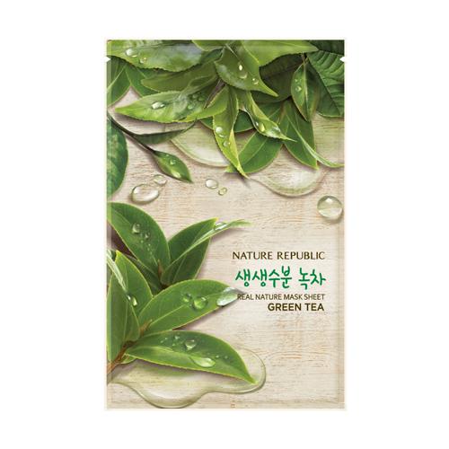 Nature Republic 精粹自然面膜-綠茶