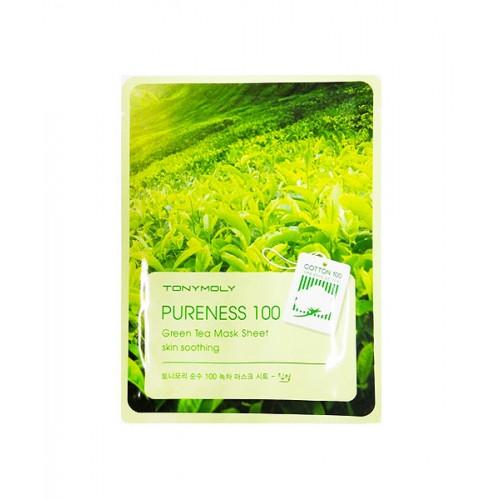 Tonymoly Pureness 100 綠茶面膜