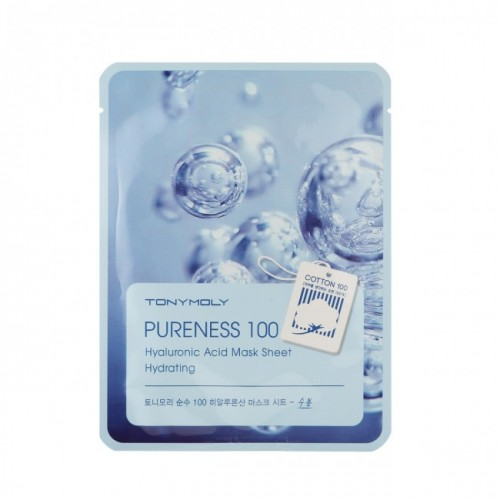 Tonymoly Pureness 100 透明質酸面膜