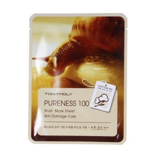 Tonymoly Pureness 100 蝸牛保濕修護面膜